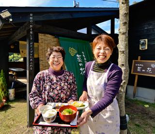 お食事処菜の花 なの花工房 田中英美子・美恵子